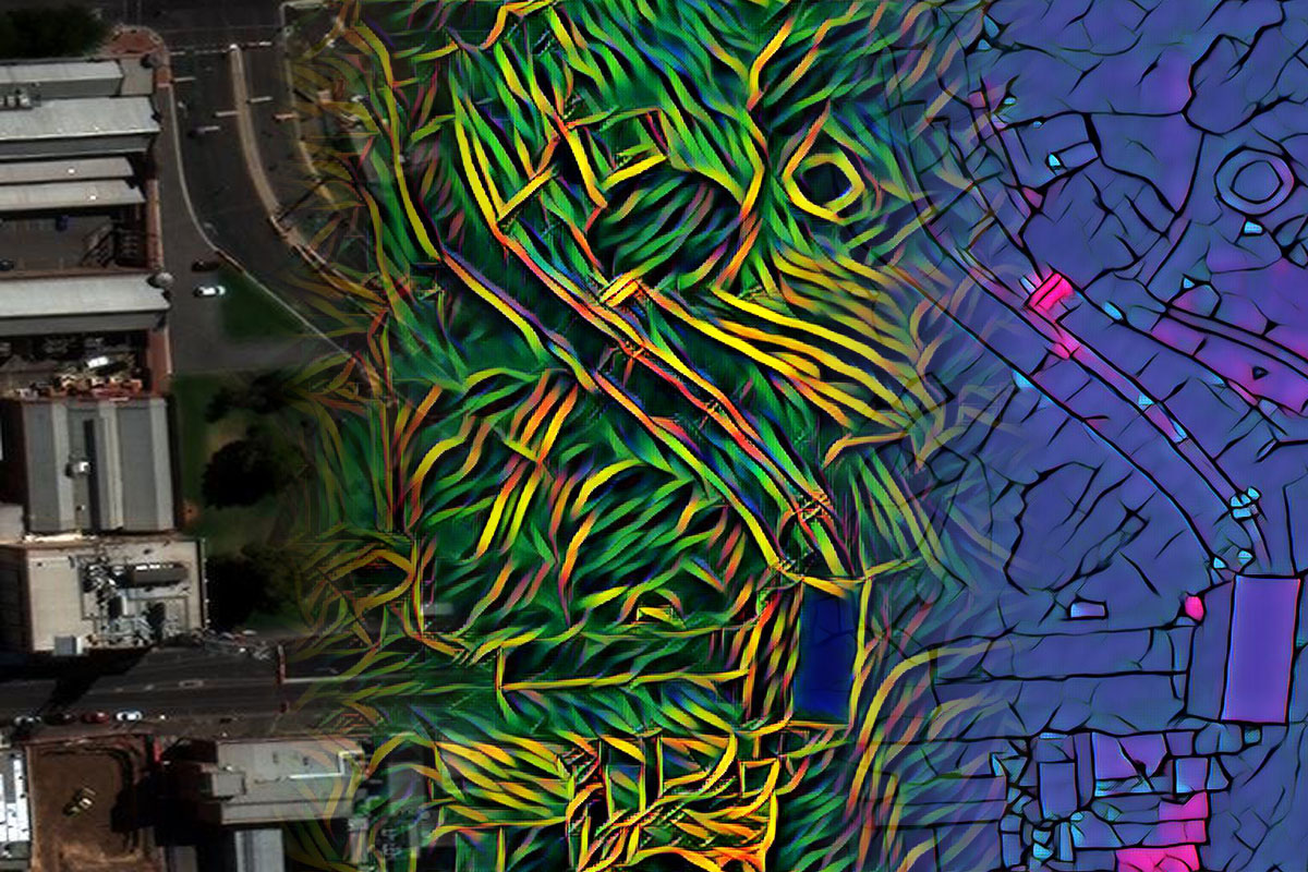 What if Google Maps was Art?