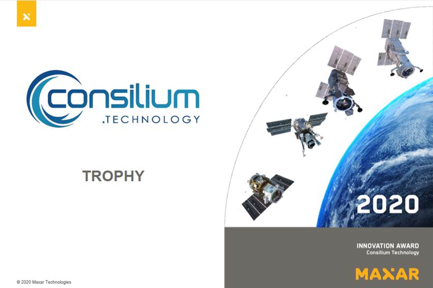 Consilium Technology Wins 2020 Maxar Innovation Award